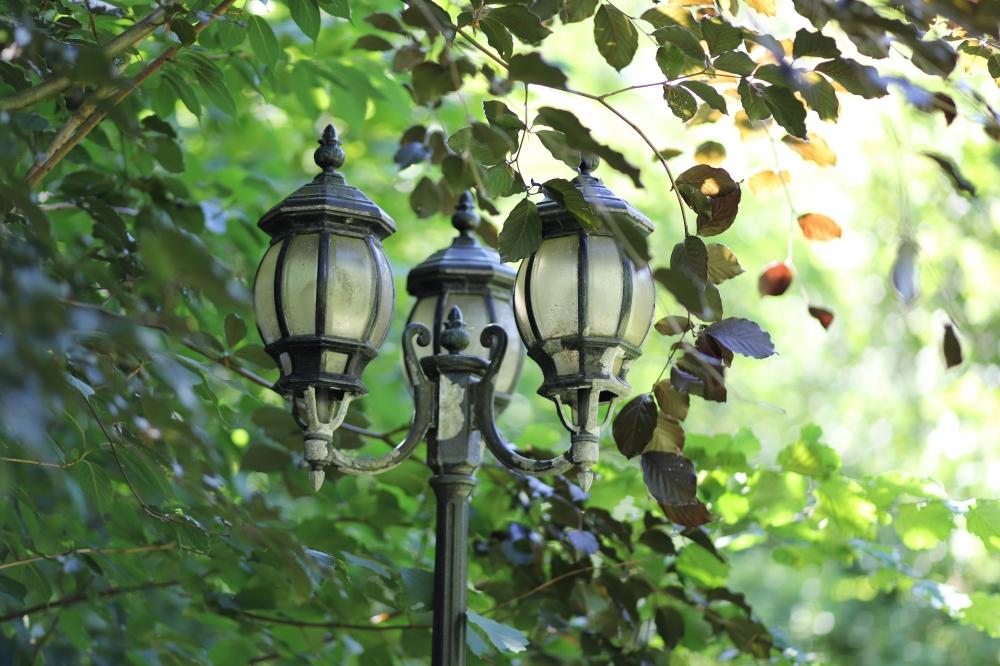 Beleuchtung im Vorgarten